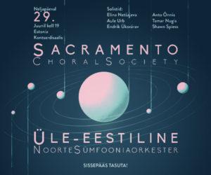 Eesti-USA ühiskontsert: Rossini ja Mendelssohn