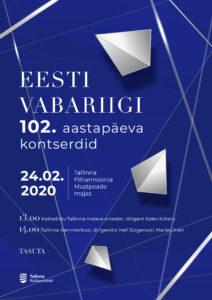 Eesti Vabariigi 102. aastapäeva kontserdid @ Mustpeade Maja
