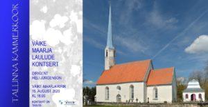 Väike Maarja laulude kontsert @ Väike-Maarja kirik