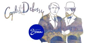 Caplet. Debussy - Kammernaiskoor Sireen ja Sten Heinoja @ Pärnu Raekoja saal