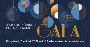Eesti Kooriühingu aastakontsert @ Eesti Muusika- ja Teatriakadeemia kontserdimaja